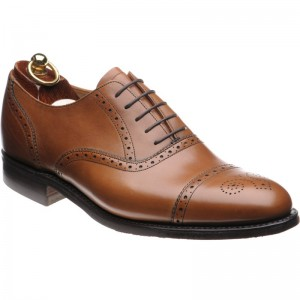 Herring Lambeth  rubber-soled semi-brogues