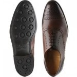 Lambeth  rubber-soled semi-brogues