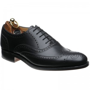 Herring Carnaby in Black Calf