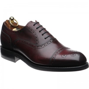 herring rewe rubber in burgundy calf