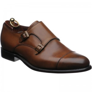 Herring Attlee double monk shoes