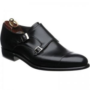 herring attlee in black calf