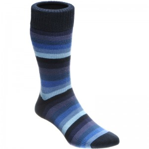 herring cuthbert sock in navy multi