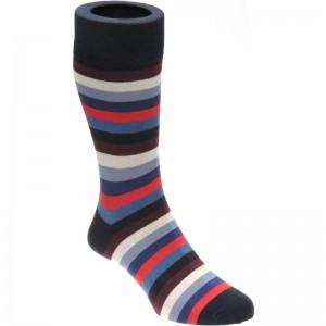 Erbert Sock in Brown Multi