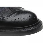 Herring Exmoor tweed rubber-soled brogue boots