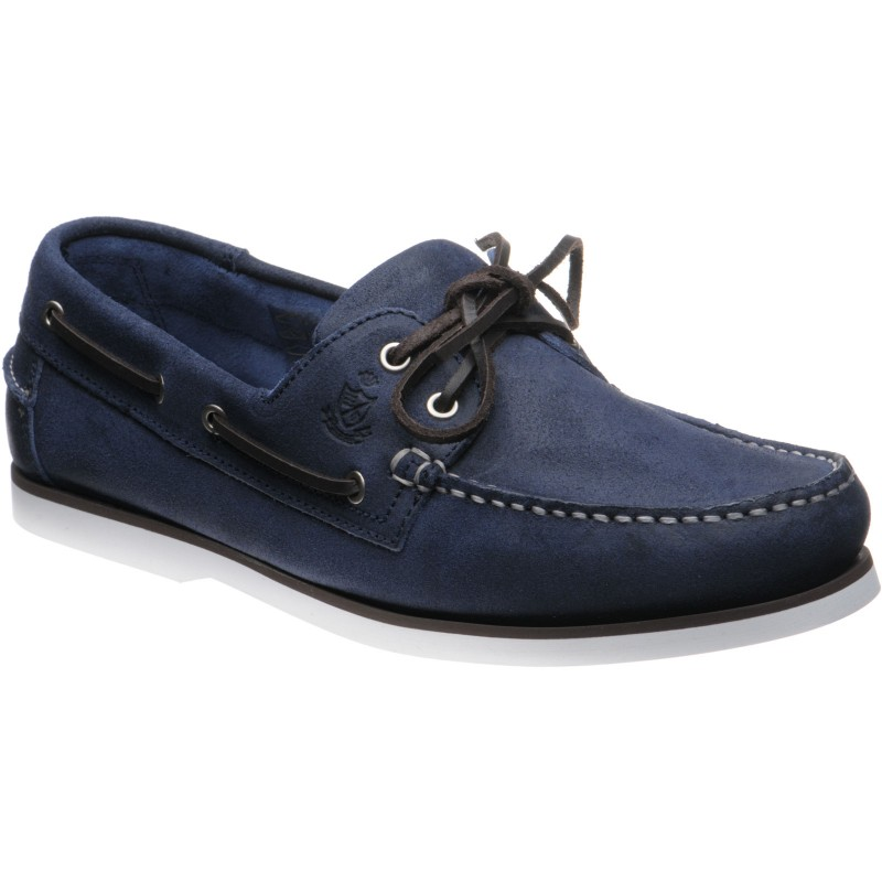Herring Fowey rubber-soled deck shoes