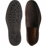 Exeter  rubber-soled loafers