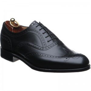 Herring Henry in Black Calf