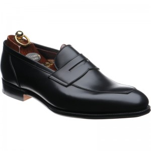 herring james in black calf
