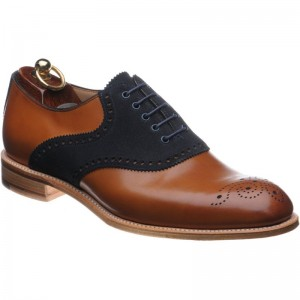 Herring Harvard II OLD in Chestnut Navy suede