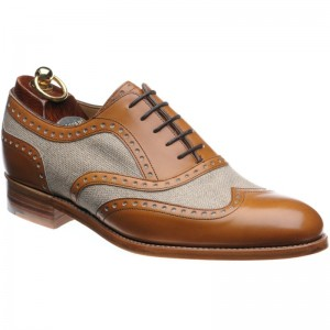 Henley II two-tone brogues