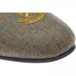 Herring Balmoral tweed slippers
