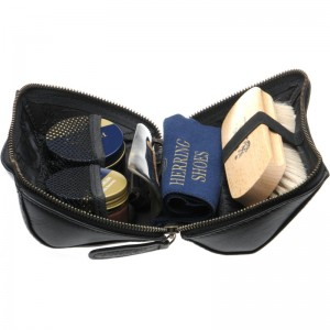 Rhinefield Shoe Care Kit in Black Calf