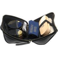 herring rhinefield shoe care kit in black calf