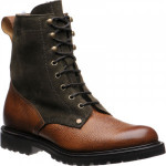 Herring Peebles (Warm Lined) two-tone rubber-soled boots