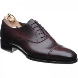 Herring Drake in Oxblood Calf