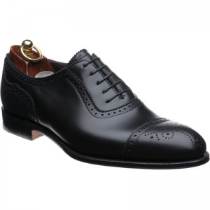 herring edward ii in black calf