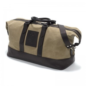 Herring Stornoway in Brown Leather And Canvas