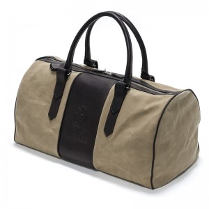 Herring Orkney in Brown Leather And Canvas