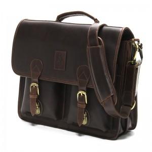 Herring Aldgate Briefcase in Brown
