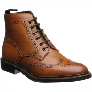 Herring Burgh (Rubber) in Dark Tan Calf