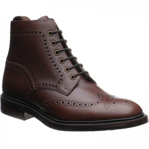 Burgh  rubber-soled brogue boots