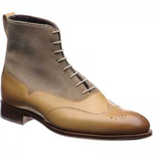 Herring Moriarty two-tone brogue boots