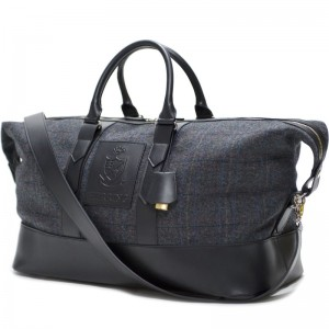 Herring Gidleigh Holdall in Charcoal Grey and Black
