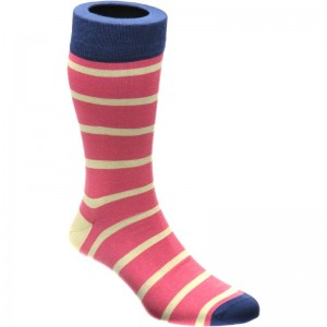 herring daffy sock in pink
