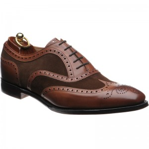 Herring Jason in Conker Calf and Brown Suede