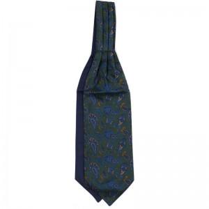 Paisley Cravat in Green