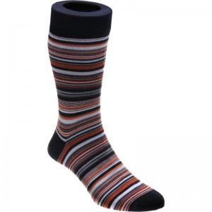 herring baloo sock in denim