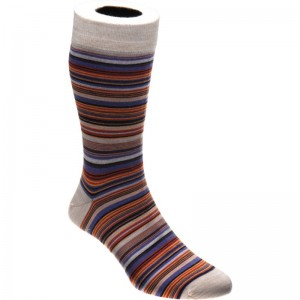 herring baloo sock in berry