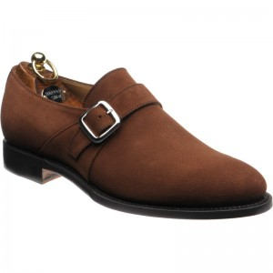 Herring Ranscombe in Brown suede