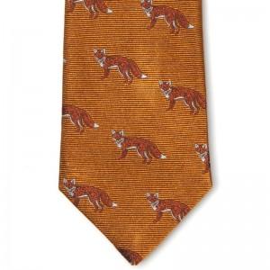 Fox Tie (7797 184) in Orange (5)
