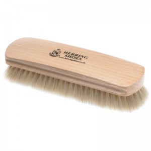 herring large shoe brush in pale bristles