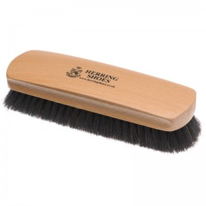 herring large shoe brush in dark bristles