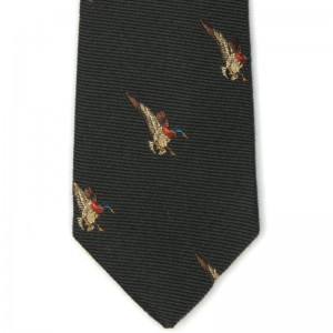 herring duck tie 2 in green 5