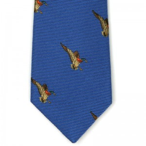 herring duck tie 2 in blue 4