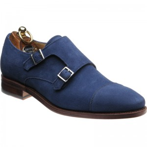 Herring Cabra in Blue Suede