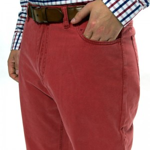 Herring Boston Jeans in Crimson