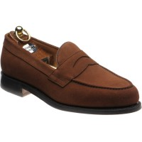herring riverford in brown suede
