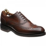 Herring Roborough (rubber) rubber-soled brogues in Brown Calf