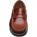 Herring Salcombe rubber-soled deck shoes