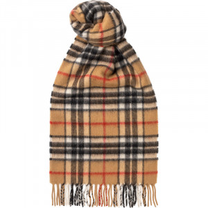 Camel Thomson Cashmere Scarf