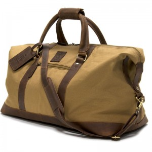 Herring Montgomery Holdall in Brown and Khaki