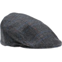 herring dale cap in charcoal grey