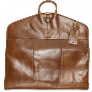 herring savoy suit carrier in chestnut