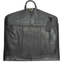 herring savoy suit carrier in black calf