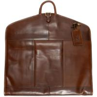 herring savoy suit carrier in brandy calf